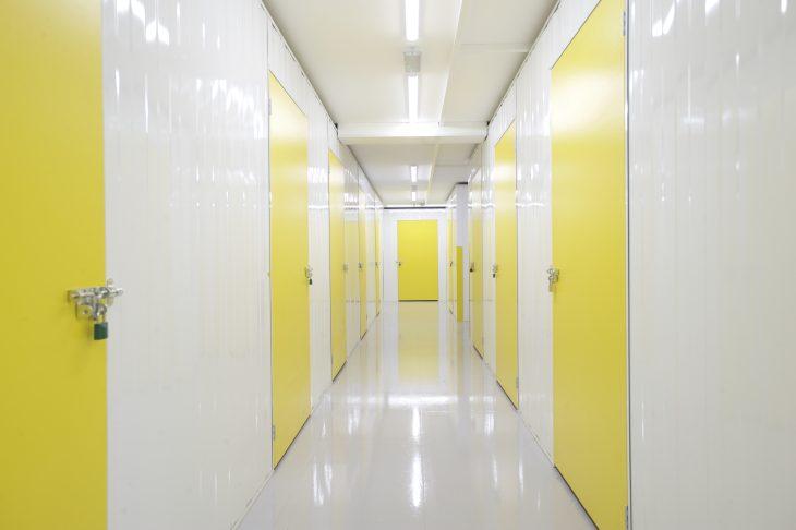 Storage room corridor