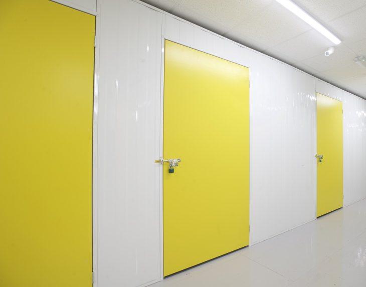 Large single doors